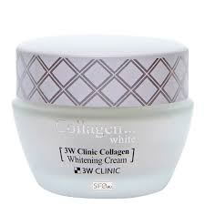 <b>Крем для лица</b> 3W Clinic Collagen Whitening Cream – купить в ...