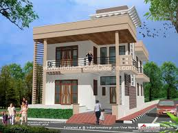 Latest rajasthan housing D Exterior Views   Indian Home design    About the home design