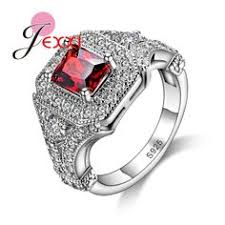 PATICO High <b>Quality 925 Silver</b> Fashion Finger <b>Ring Elegant</b> ...