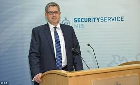 Image result for Andrew Parker, director-general of Britain's MI5 intelligence service