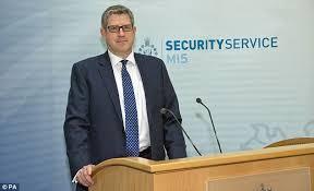 Image result for Andrew Parker, director-general of Britain's MI5 intelligence service