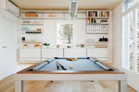 kitchen room pull table:  this kitchen hasa dining pool table combo  thumb xauto