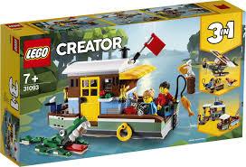 <b>Конструктор LEGO</b> Creator 31093 <b>Плавучий</b> дом