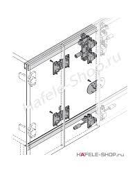 <b>Комплект</b> для <b>2х пар</b> складных дверей Slido Fold 25VF fest