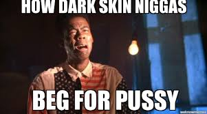 Un Categorized | how dark skin niggas beg for pussy - WeKnowMemes via Relatably.com