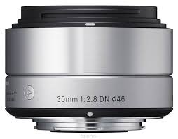 <b>Sigma Af 30mm f/2.8</b> DN/A, Silver объектив для Micro 4/3 | Sony e ...