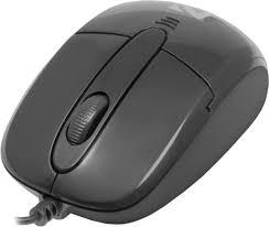 <b>Проводная оптическая мышь</b> Defender Optimum MS-130 черный ...