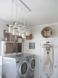 room light fixture interior design: dining room and now it has a new home in the laundry room fits much