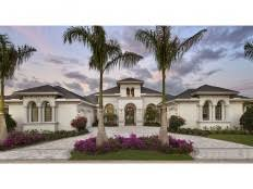 Spanish Style House Plans at Dream Home Source   Spanish Revival    DHSW