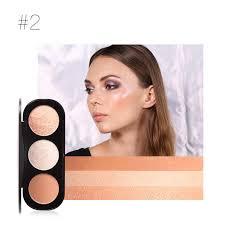 <b>Focallure</b> 3 Colors <b>Face Blusher</b> Palette <b>Blush</b> Makeup Brushes ...