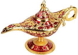 Russian Small Hollow <b>Aladdin Magic Lamp</b>, <b>Aladdin</b> Magic <b>Genie</b> ...