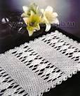 Прямоугольные салфетки вязание