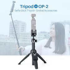 OSMO POCKET Vlog Tripod Monopod Selfie Stick with <b>Ulanzi OP</b> 2 ...