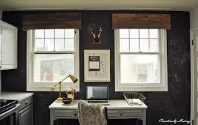 diy rustic window valances build rustic office