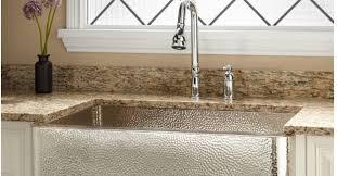 hammered copper kitchen sink: should i buy a nickel plated hammered copper farmhouse sink hometalk