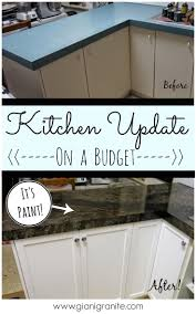 ideas laminate countertops pinterest painted