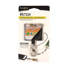 <b>Nite Ize Hitch</b> Phone Anchor + <b>Microlock</b> - Stainless <b>Microlock</b> S ...