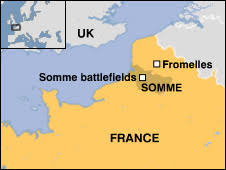 「battle of the somme map」の画像検索結果