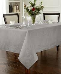 espresso dining table linen