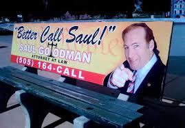 Resultado de imagen para better call saul ads