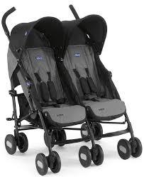 <b>Chicco</b> Echo Twin Stroller - <b>коляска для двойни</b> Coal купить в ...