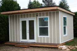 new business makesomeroom ready to build backyard office studios for those working at home and in need of space backyard home office build