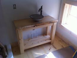 vanity small bathroom vanities: astonishing unfinished bathroom vanities ideas feats stone sinks