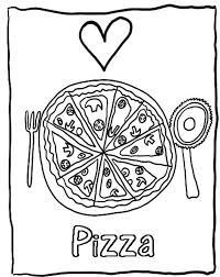 Small Picture pepperoni pizza coloring page coloringcrew pizza coloring pages