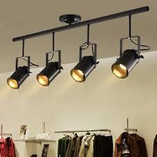 <b>Retro</b> Ceiling Light <b>American Style</b> Dining Room Bedroom Clothing ...