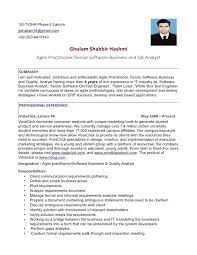 resume sample qa resume sample analyst quality assurance stonevoices resume format for quality engineer