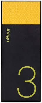 <b>uBear Light</b> 3000, Black Yellow <b>внешний аккумулятор</b> — купить в ...