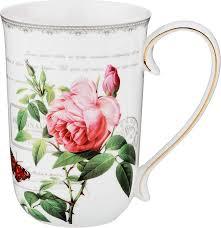 <b>Кружка</b> столовая <b>Lefard</b> Розы, 85-1475, мультиколор, 500 мл ...