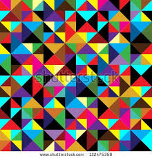 Seamless <b>Geometric Pattern</b> With Triangles. Can Be Used In ...