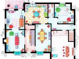 Floor Plans Of Homes From TV Shows   Business Insiderhouse of simpson family ground floor