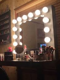 how to build a vanity mirror ps use halogen lights not the pictured best lighting for makeup vanity