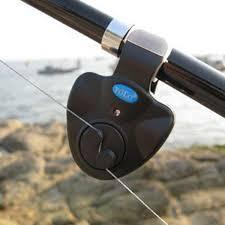 <b>Fishing</b> Electronic LED Light <b>Fish</b> Bite Sound Alarm <b>Bell Clip</b> On ...