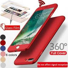 360 Degree Hard Matte PC Phone Case for iPhone for ... - Vova