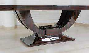 art deco dining tables and deco on pinterest art deco dining furniture