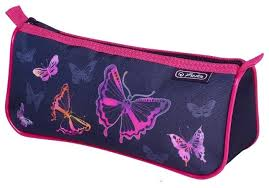 <b>Herlitz Пенал-косметичка Sport</b> Butterfly (50021222-2) — купить по ...