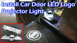 Install Car Door LED Logo Projector Light - <b>Nissan</b> Pathfinder ...