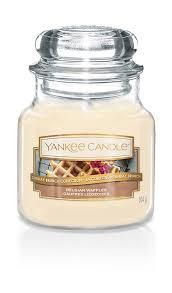 <b>Свеча ароматическая</b> Yankee Candle Бельгийские вафли ...