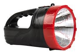 <b>Аккумуляторный фонарь</b>-прожектор 2 в 1 <b>3W</b>+<b>6</b> SMD, черный ...