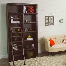 gray augustus library bookshelf world bookcase book shelf library bookshelf read office