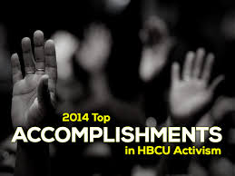 accomplishments in hbcu activism ferguson mo protesters hands up