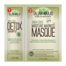 Shea-Coco Detox Shampoo & Moisture <b>Madness</b> Masque 2.4oz ...