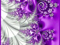Purple fractal art: лучшие изображения (65) | Фракталы ...