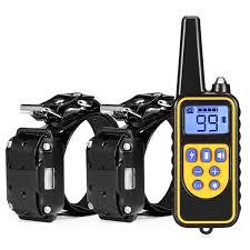 <b>dog</b> training collar <b>800M</b> remote rechargeable and waterproof <b>dog</b> ...