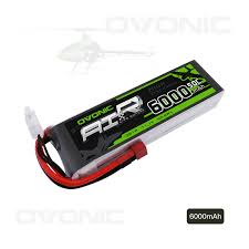 Ovonic 6000mAh <b>3S</b> 11.1V 50C LiPo Battery Pack with T Plug for ...
