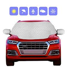 Ice Scraper Snow Shovel Kit for Car, <b>2-in-1</b> Cone Car Windshield ...