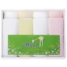 Детские <b>пеленки</b> для девочек <b>Little Me</b>, 8 шт. (фланель, трикотаж ...